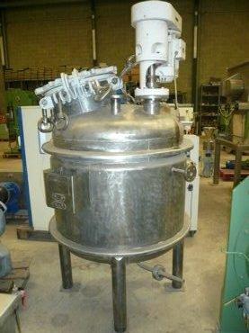 Mezclador Inox Con Doble Fondo y Presion 17 / 162