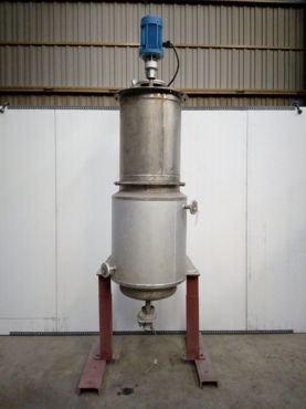 Reactor Inox Con Doble Fondo
