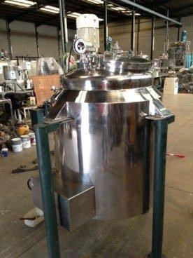 Reactor Inox Con Doble Fondo y Presion