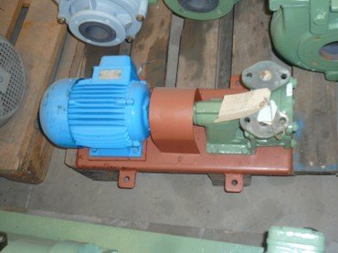 Motor Bomba de Anillos 58B / 126 en Inox