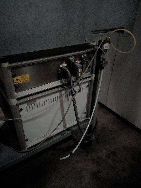 Máquina de Flameado de Plástico