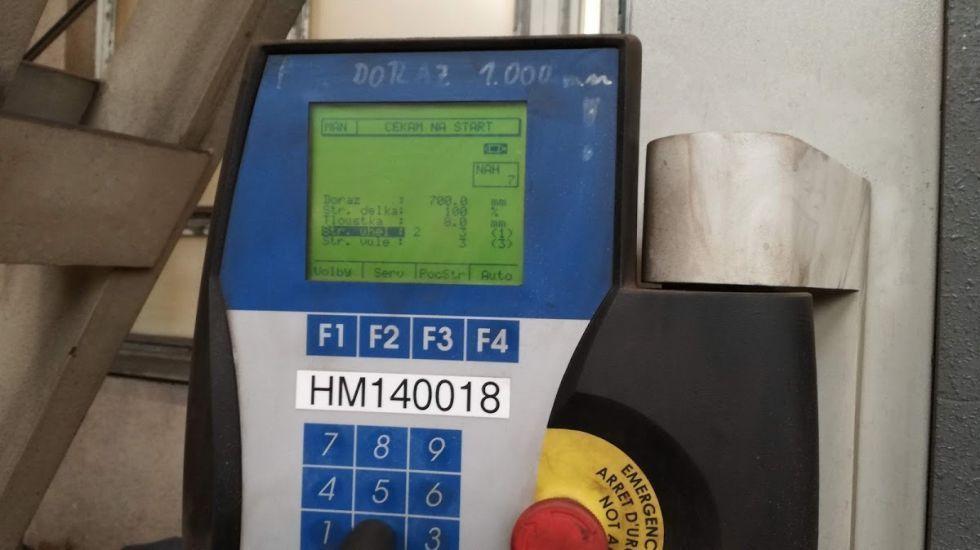 Cizalla hidráulica CNC