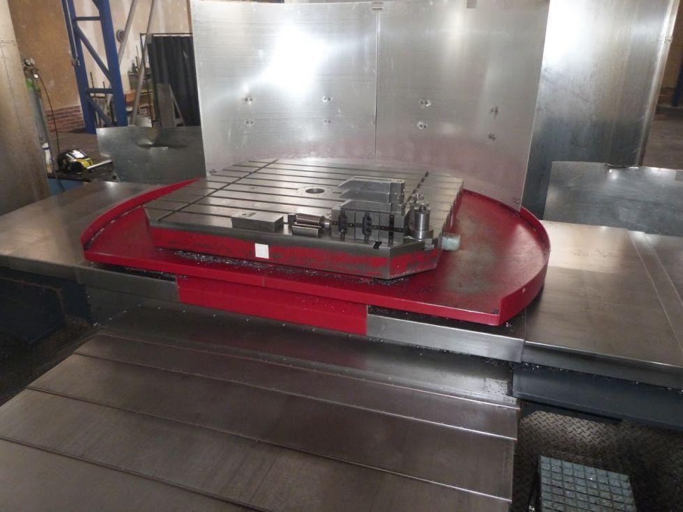Mandrinadora mesa en cruz CNC