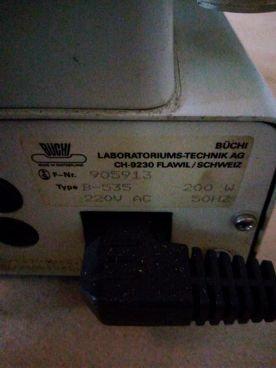 Determinador de Punto de Fusión 88 / 129 Tipo B-535
