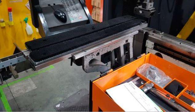 Plegadora hidraulica 4000X170 TN.