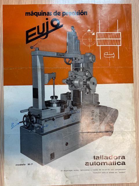 Talladora Generadora de engranajes