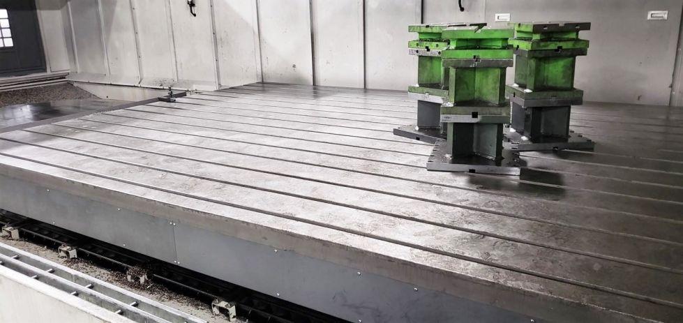 Molino vertical de puente de doble columna CNC
