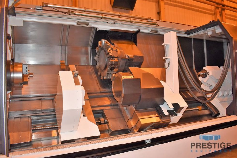 Centro de torneado CNC con fresado en vivo