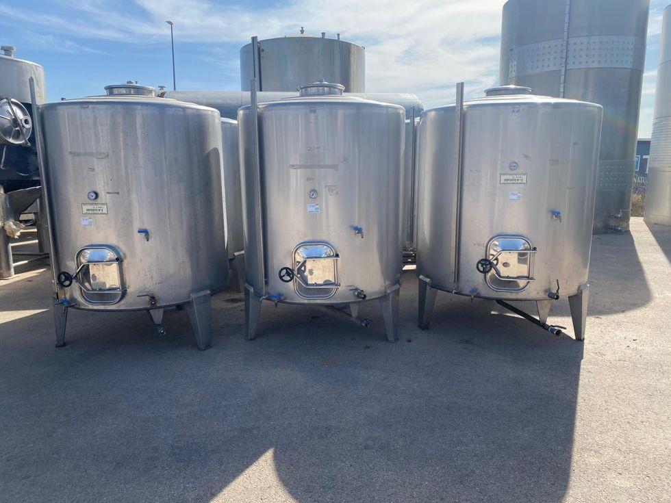 Depósito 3.000 litros en inox 316 sencillo