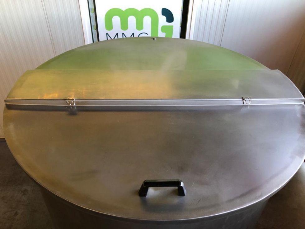 Depósito de 2.500 litros con emulsionador ATEX