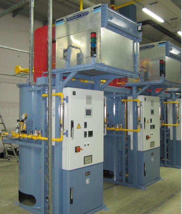 Generador de gas endotérmico