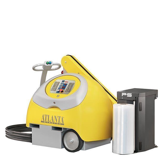 Robot enfardadora de palets