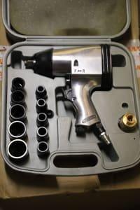 Compressed Air Screwdriver Set