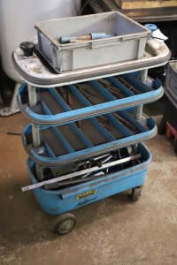 HAZET Workshop Trolley with Contents