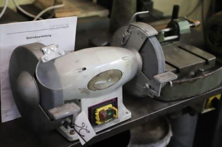 OPTIMUM Double-Wheeled Bench Grinder