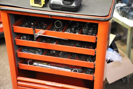 WÜRTH Workshop Trolley with Contents