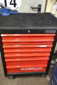 KS TOOLS Basic Line Workshop Trolley with Contents