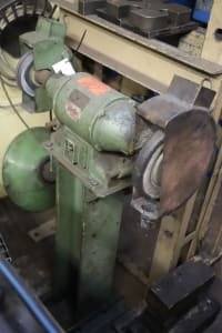 GREIF Double-Wheeled Bench Grinder
