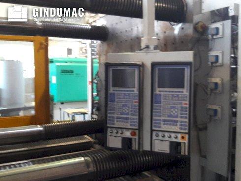 Krauss Maffei 1300-700-700-390-390 Máquina de moldeo por inyección MZ