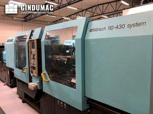 Máquina de moldeo por inyección DEMAG Ergotech System 110-430