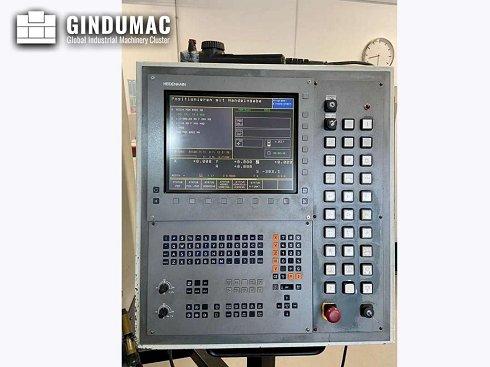El centro de mecanizado vertical Alzmetall CNC BAZ 35 fue fabricado en el año 2000.