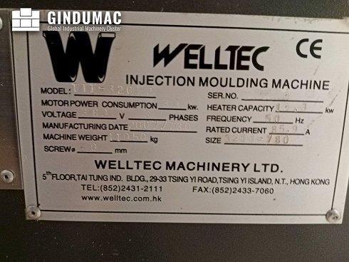 Máquina de moldeo por inyección Welltec 320F2