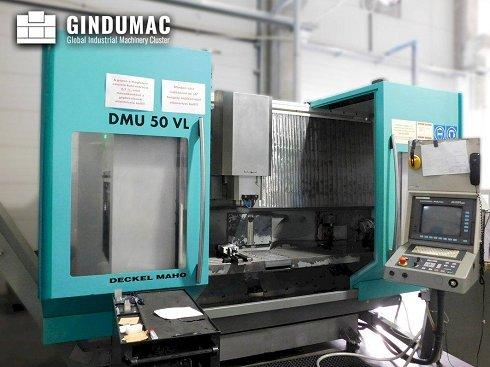 Fresadora DMG DMU 50 VL