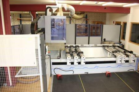Centro de mecanizado CNC HOMAG Optimat BOF 311/30/PM/AP con FLEX5 (de la escuela)