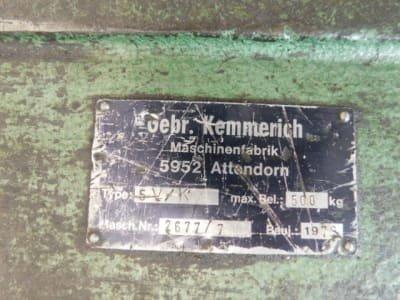 KEMMERICH 5V/K Decoiler