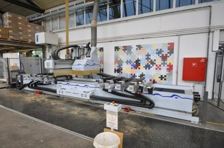 Centro de mecanizado CNC WEEKE Profiline BHC 600