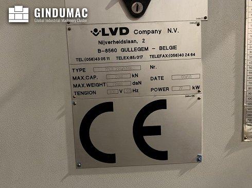 Máquina curvadora LVD PPEB 220/6100