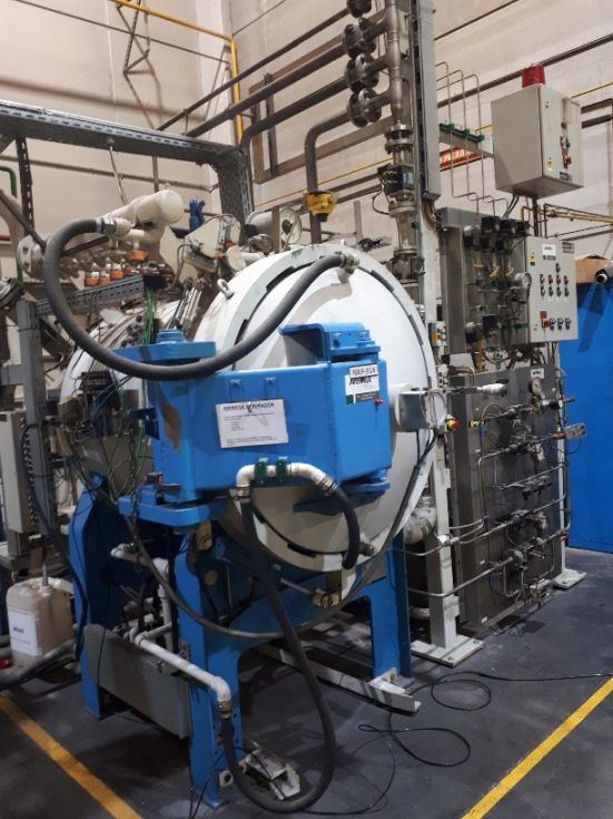 Horno Nitruración Gaseosa Alta presión