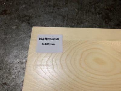 FREUTEK SDM0003 4x Set of Internal Micrometers 5 - 100 mm
