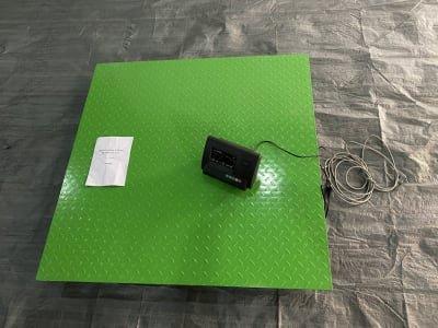 FREUTEK GOL0001 Electronic Scale for Floor Installation