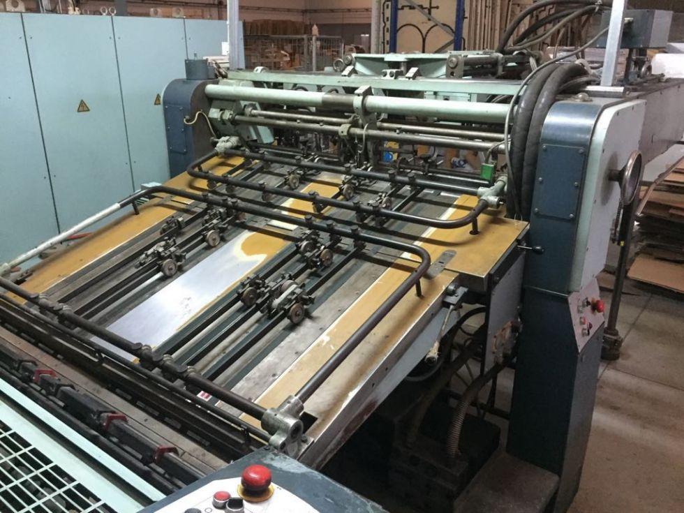 Impresora 5 col + barniz