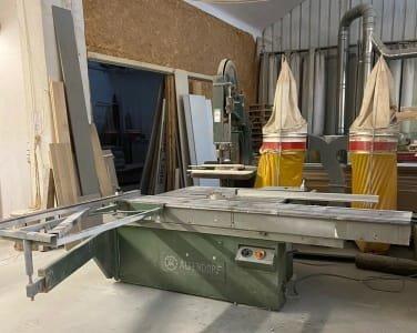 ALTENDORF Circular sawing machines