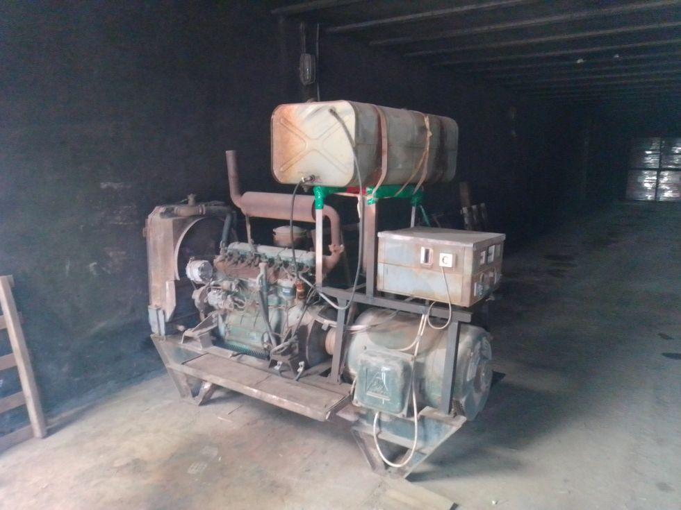 Generador eléctrico diesel barreiros