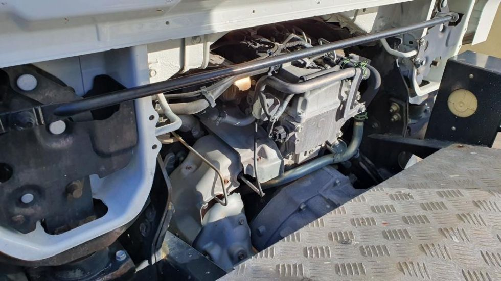 Plataforma sobre camión 20Mt Palfinger P200A