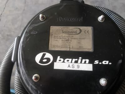 Aspirador de Limpieza Industrial BARIN DC2800C