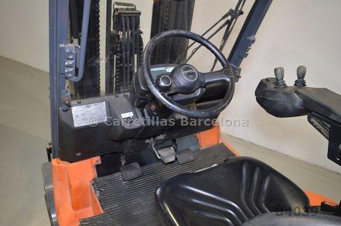 Contrapesada eléctrica (4 ruedas) Toyota 7FBMF30