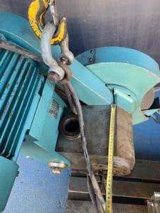Aparato rectificador sobre torno hidraulico HERMED