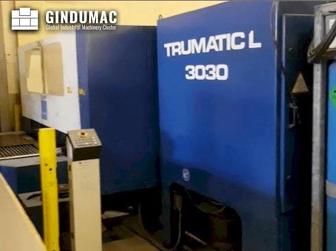 Máquina de corte por láser Trumpf Trumatic L3030