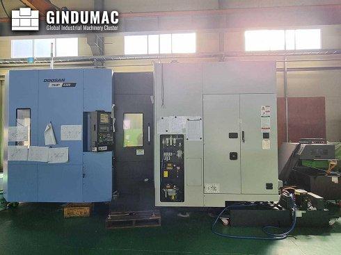 Centro de mecanizado horizontal Doosan NHP 6300