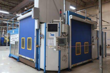BERGMANN & STEFFEN Typ 22 Laser Welding plant