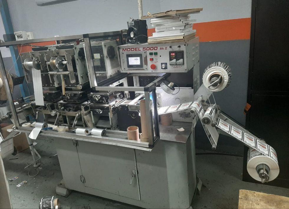 Estampadora Etiquetas NEW FOIL 5000 MK II Electrónica Nueva