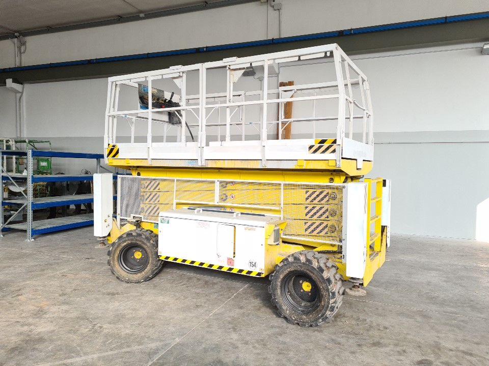 Plataforma de tijera 14Mt Airo SF 1200 D 4WD
