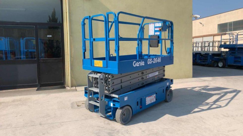 Plataforma de tijera 10Mt Genie GS 2646