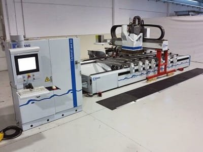 HOMAG BAZ 322 Working Center For Boring Routing Edgebanding