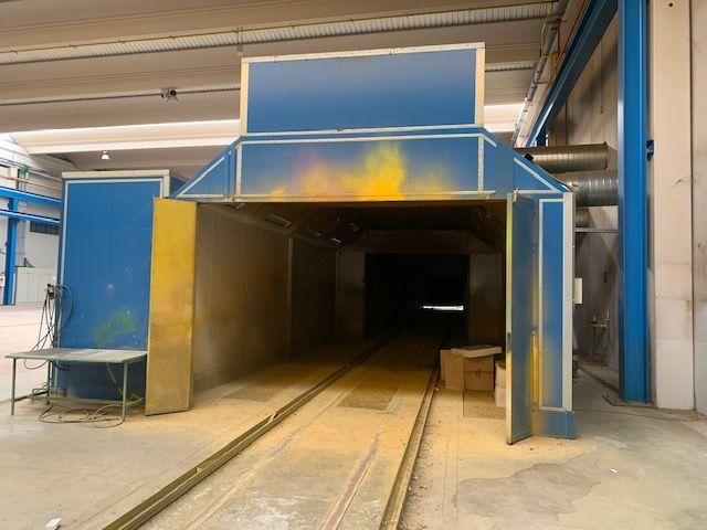 Cabina presurizada y zona de secado