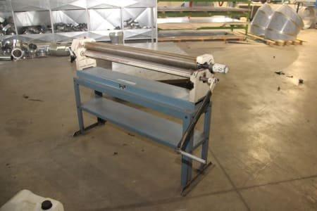 BERNARDO RM 1300 Manual Round Bending Machine